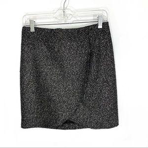 inéquanone Metallic Tweed Mini-Skirt